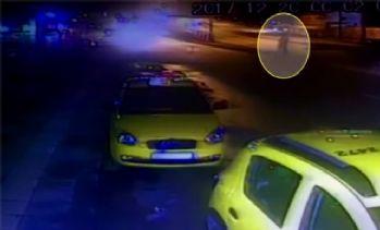 Ankara'daki ölümlü kaza güvenlik kameralarına yansıdı