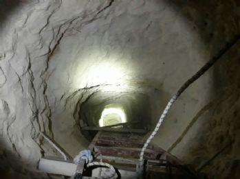 Siirt'te bulunan tünellerde inceleme sürüyor