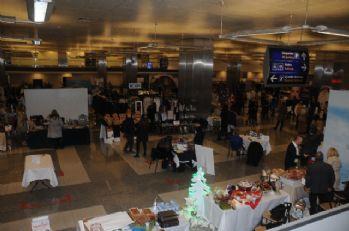 Atatürk Havalimanı'nda kış alışveriş festivali başladı