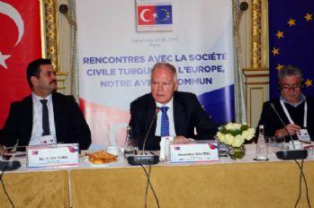 Paris'te Türkiye-AB Sivil Toplum ve Medya Buluşması