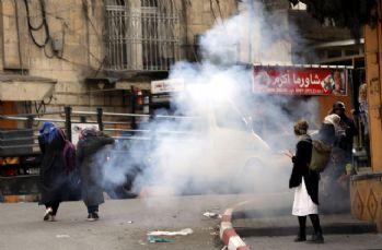 Batı Şeria'da sert müdahale: 81 yaralı