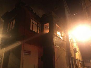 İstanbul'da mahalleliyi sokağa döken yangın