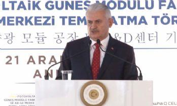 Türkiye'nin ilk yerli güneş enerjisi panel fabrikasının temeli atıldı