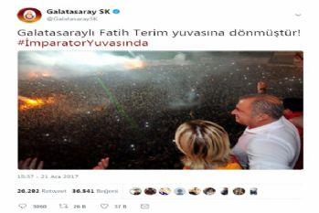 Galatasaray'dan Fatih Terim paylaşımı
