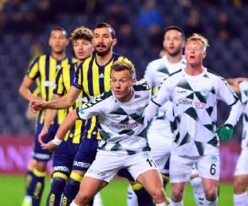 Fenerbahçe ile Konyaspor 33. randevuda