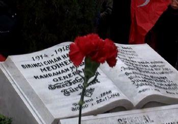 Fahrettin Paşa mezarı başında anıldı