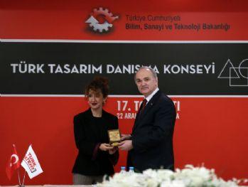 Türk Tasarım Danışma Konseyi Onur Ödülü Bahar Korçan'ın