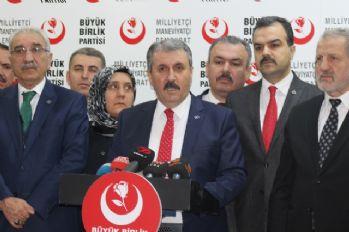Mustafa Destici AK Parti Genel Merkezinde