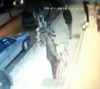 Market önündeki bisikleti çaldılar