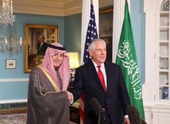 Tillerson, Suudi mevkidaşıyla görüştü