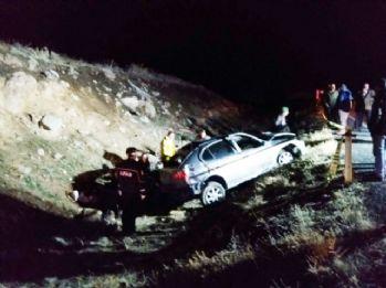 Niğde'de otomobil takla attı: 2 ölü, 2 yaralı