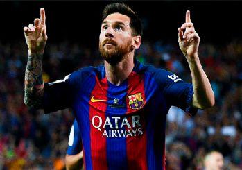 Messi 100 milyon euroluk maaşıyla tarihe geçti