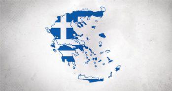 Yunan parlamentosu önünde protesto