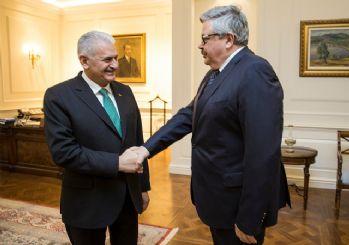 Başbakan Yıldırım, Rusya'nın Ankara Büyükelçisini kabul etti