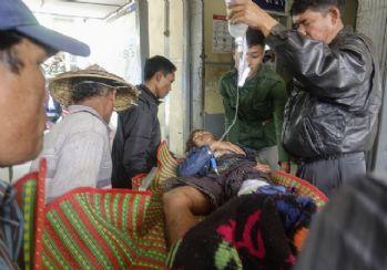 Myanmar'da polis protestoculara ateş açtı: 7 ölü, 12 yaralı