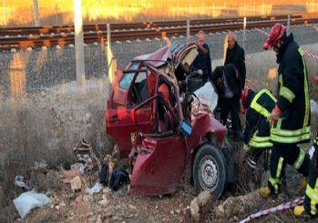 Konya'da katliam gibi kaza: 2'si çocuk 4 ölü