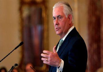 ABD Dışişleri Bakanı Tillerson'dan Suriye açıklaması