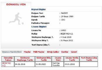 Vida'nın lisansı çıktı