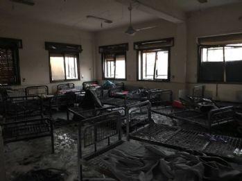 Teröristlerin vurulduğu hastanedeki siviller Türkiye'ye getirildi