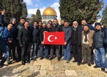 Kudüs'te gözaltına alınan Türk iş adamları hakkında açıklama