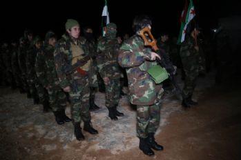Özgür Suriye Ordusu Afrin operasyonuna hazırlanıyor