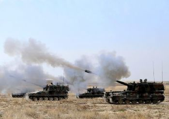 TSK'den açıklama: Afrin'de YPG hedefleri vuruldu