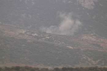 Afrin'de milli füzeler kullanıldı