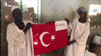 Sudanlı öğrencilerden, Türk askerine dua