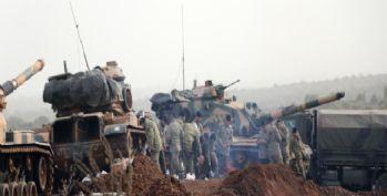 Türk askeri ve ÖSO mensuplarının ilerleyişi sürüyor