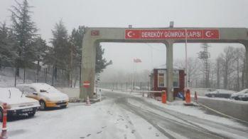 İstanbul'un yanı başı bembeyaz