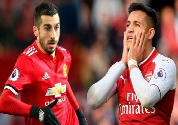 Mkhitaryan Arsenal'e, Alexis Sanchez Manchester United'a.