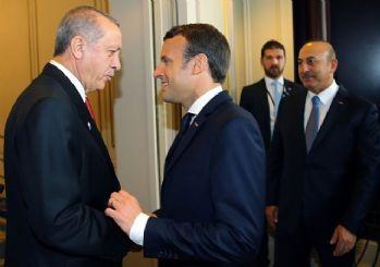 Erdoğan Macron ile görüştü: 'Zeytin Dalı', uluslararası hukuka uygun