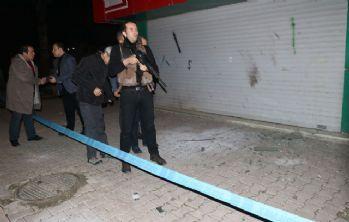 Polis karakolu yakınına EYP atıldı