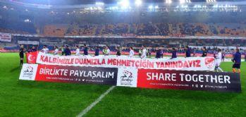 Başakşehir'den Mehmetçiğe destek