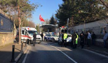Beşiktaş'ta trafik kazası: 1 polis yaralı
