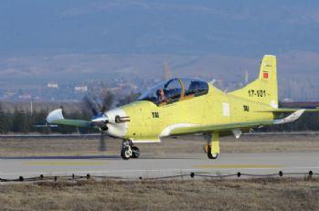 HÜRKUŞ-B ilk uçuş testini gerçekleştirdi