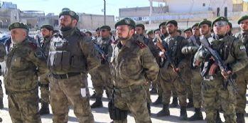 Azez'in güvenliği Türk polisinin eğittiği Komandos'ta