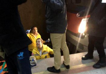 Ankara metrosunda raylara düşen genç kız kurtarıldı