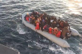 147 göçmen kurtarıldı