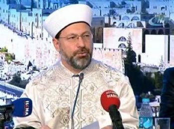 Diyanet İşleri Başkanı Kudüs toplantısının sonuçlarını açıkladı