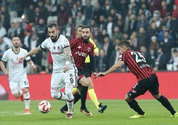 Beşiktaş - Gençlerbirliği maçı geniş özeti ve golleri