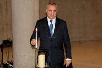 İsrail Büyükelçiliği Yahudi Soykırımını andı