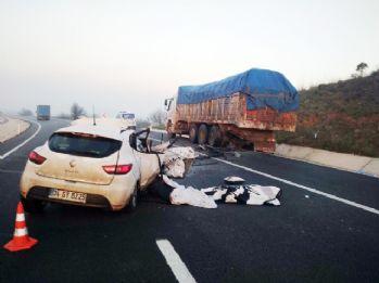 Anne ve oğlu aynı kazada hayatını kaybetti
