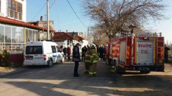 Balıkesir'de yangın: 1 ölü, bir yaralı
