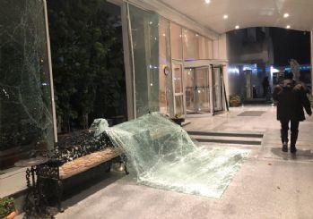 Ankara'da vergi dairesinde doğalgaz patlaması