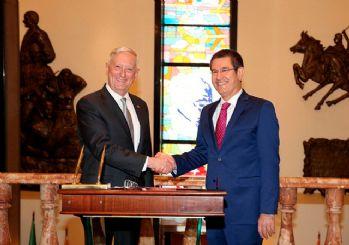 Milli Savunma Bakanı Canikli, ABD'li mevkidaşı Mattis ile görüşecek