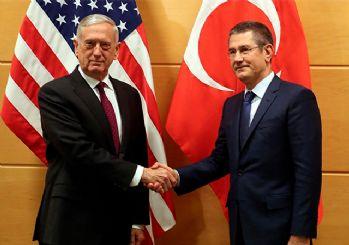 Milli Savunma Bakanı Canikli: Mattis, YPG'yi PKK'ya karşı savaştırabileceklerini söyledi