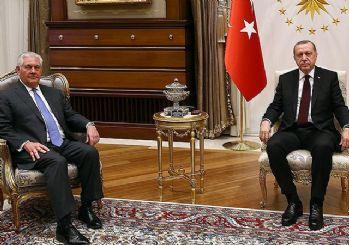 'Erdoğan, Tillerson'a Türkiye'nin beklentilerini açık şekilde iletti'