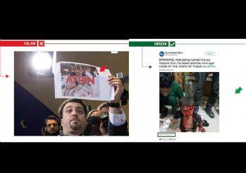 Basın toplantısını sabote etmek için 'Afrin yalanlarını' kullandı