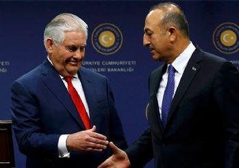 Çavuşoğlu ile Tillerson görüşmesine 'Menbiç' damgası